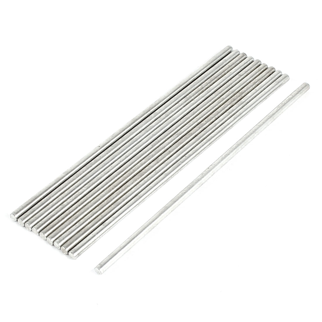 DIY Car Helicopter Model Toy Stainless Steel Round Axles Rod Bar 2.5x90mm 10 Pcs