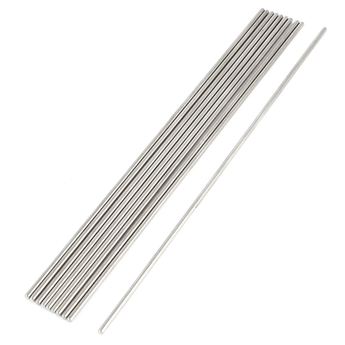 DIY Car RC Helicopter Model Stainless Steel Round Axles Rod Bar 2mmx160mm 10 Pcs
