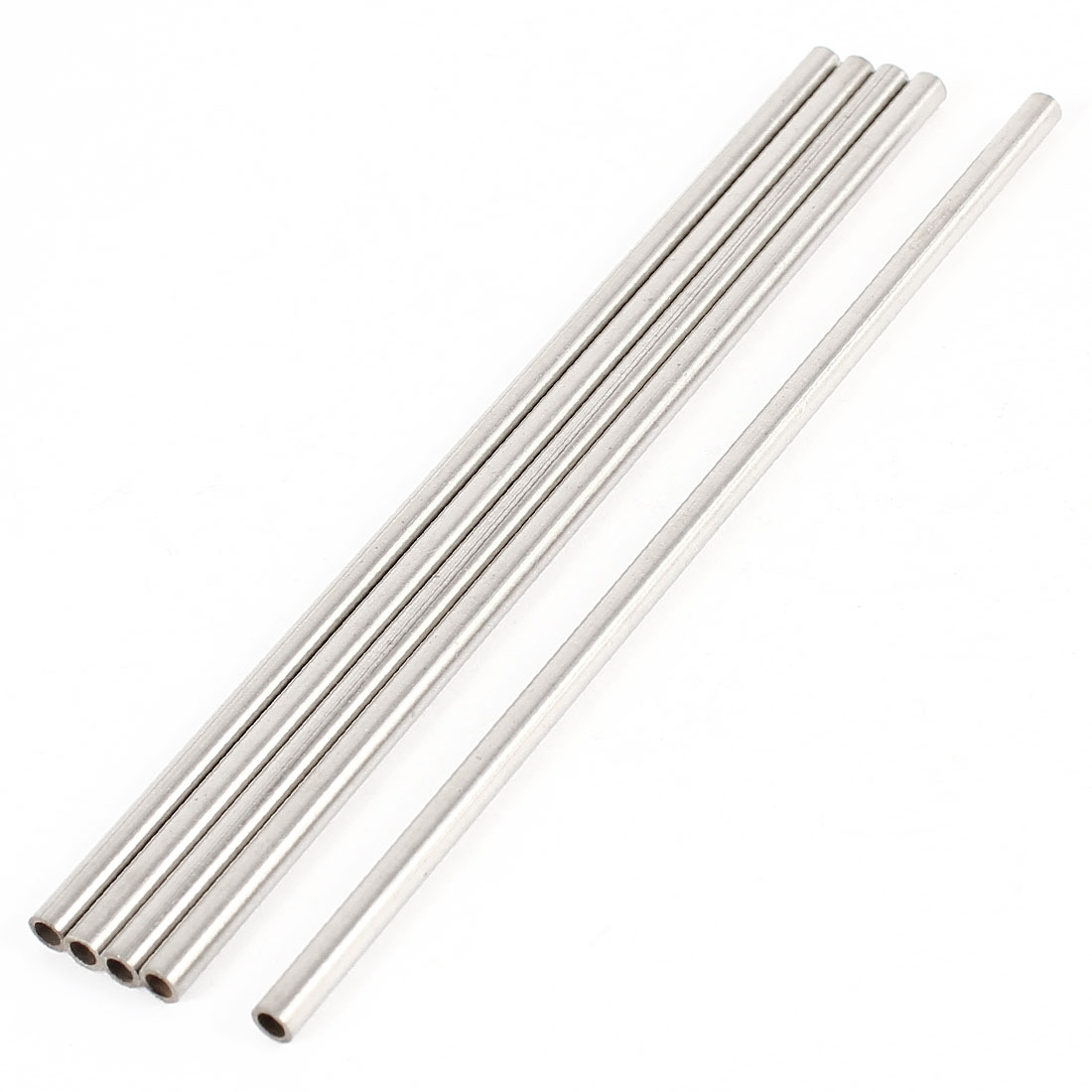DIY Car RC Helicopter Model Stainless Steel Hollow Shaft Rod 100mmx3mmx2mm 5 Pcs