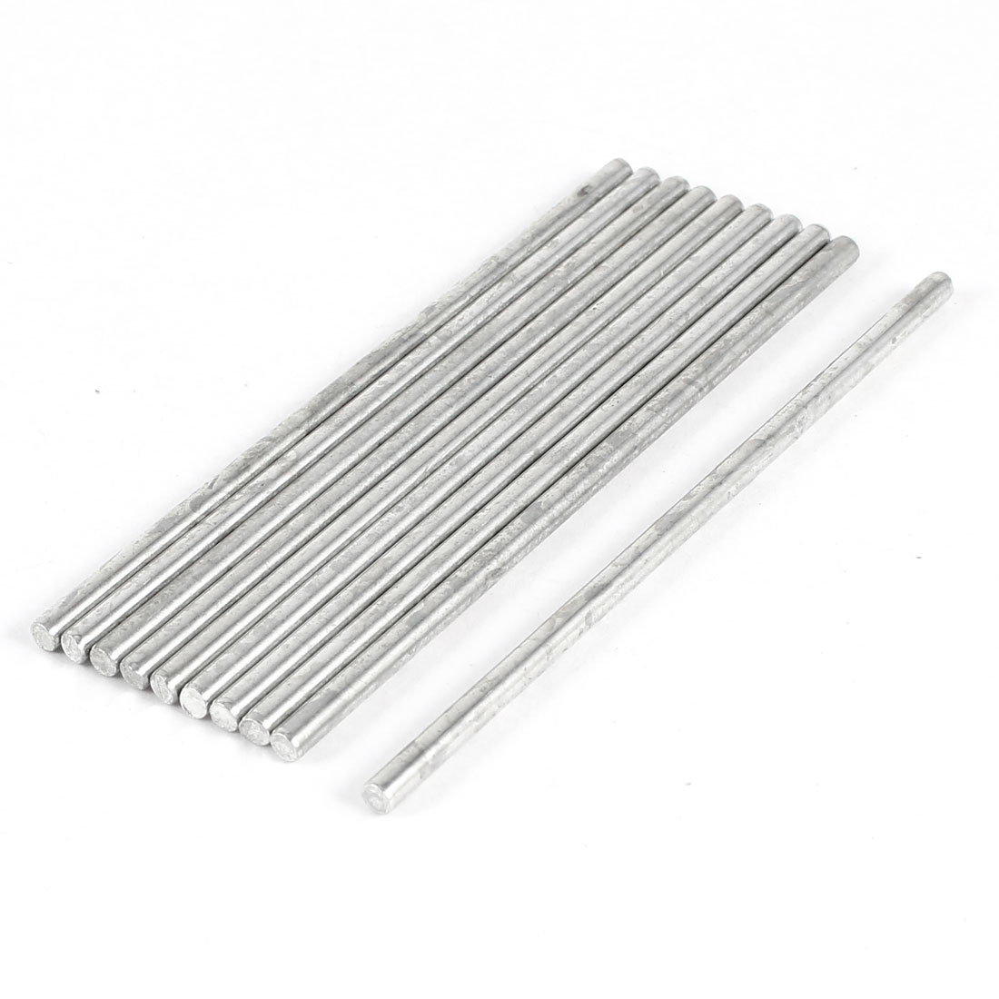 DIY Car Helicopter Model Toy Stainless Steel Round Axles Rod Bar 2.5mmx70mm 10 Pcs