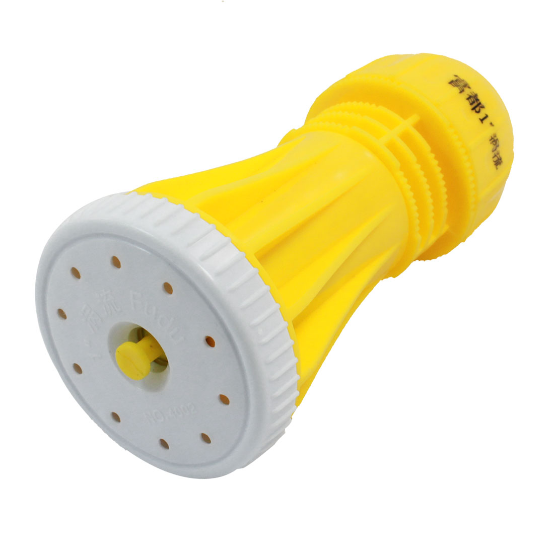 Yellow Plastic Quick Hose Connector Gardening Lawn Sprayer Nozzle