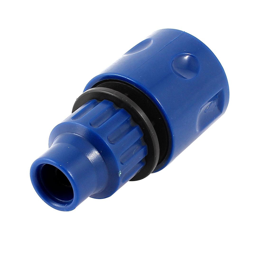 9-12mm Hose Range Garden Spray Water Nozzle Quick Adapter Blue
