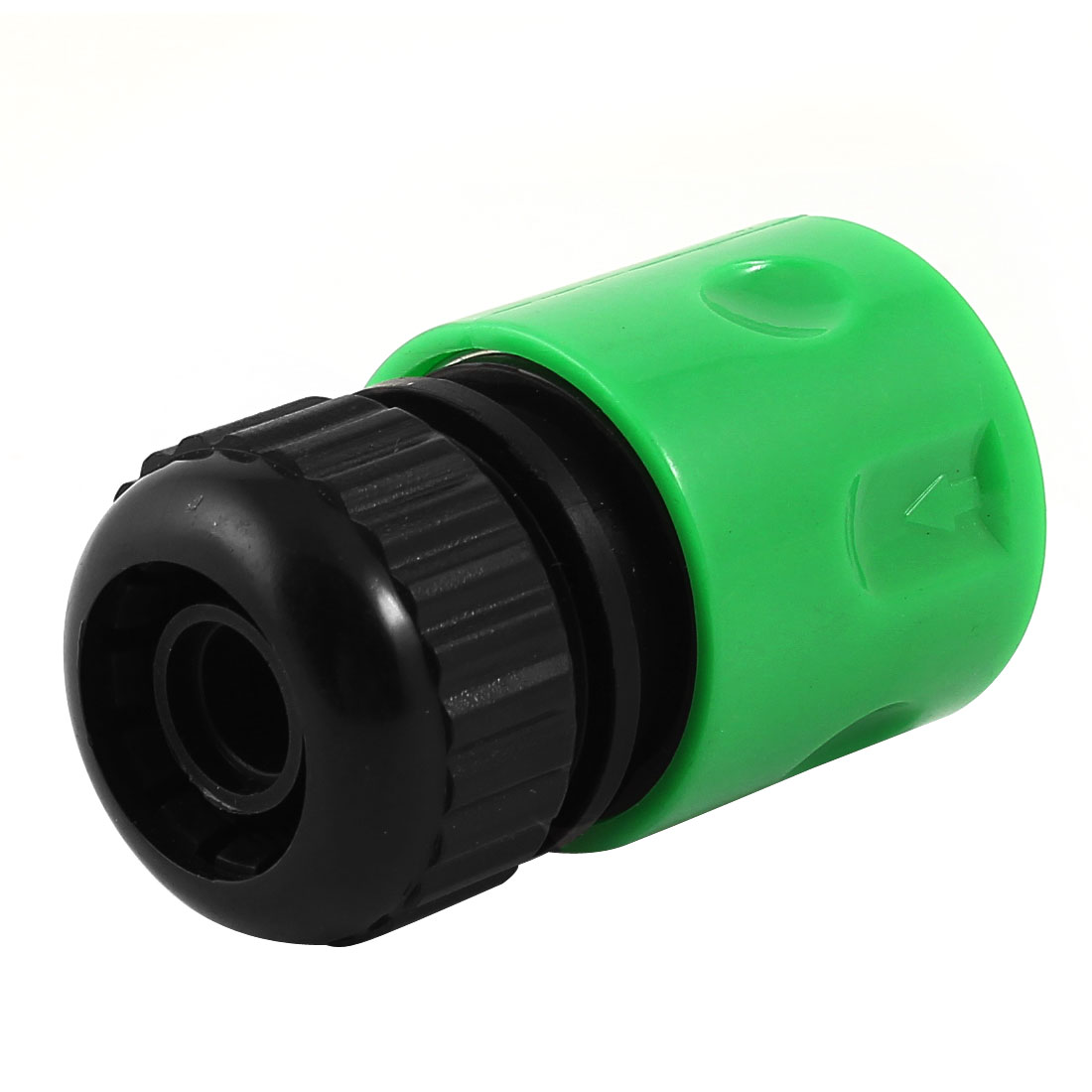 Gardening Fitting Quick Adapter Connector Green Black for 17.5mm Hose