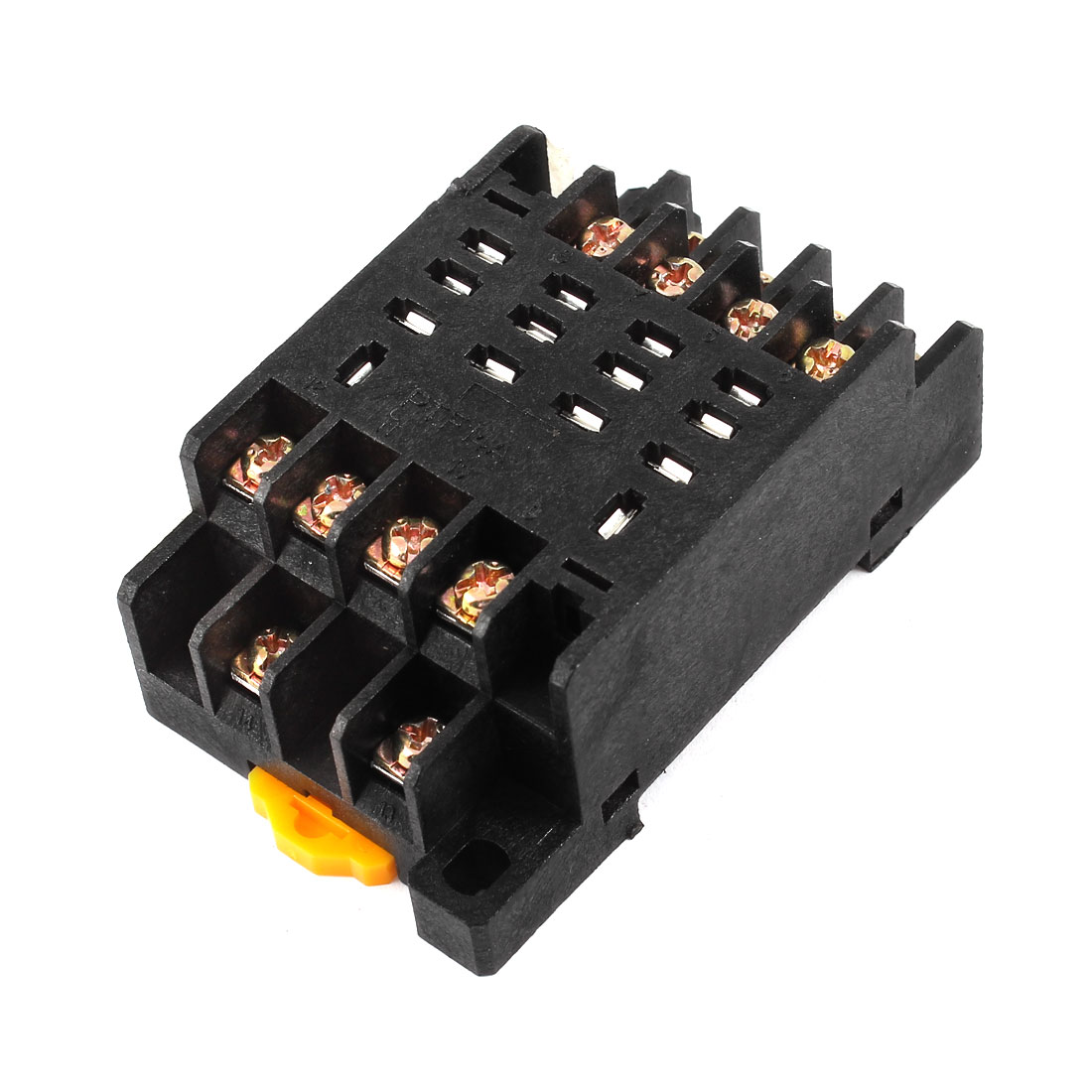 PTF14A 35mm DIN Rail Relay Socket Base 14-Pin for HH64P LY4NJ