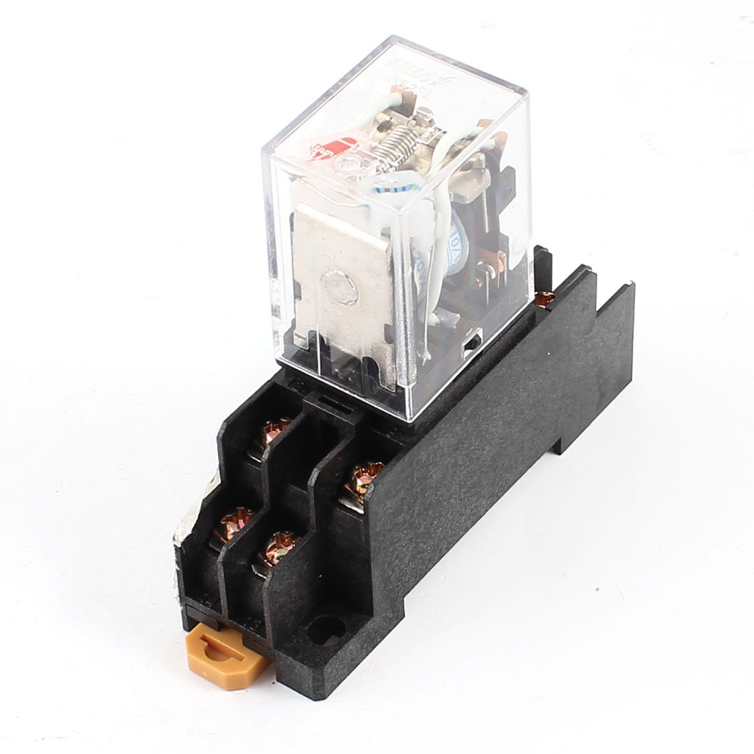 AC 110/120V Coil DPDT 8 Pin Red LED General Purpose Power Relay w Socket