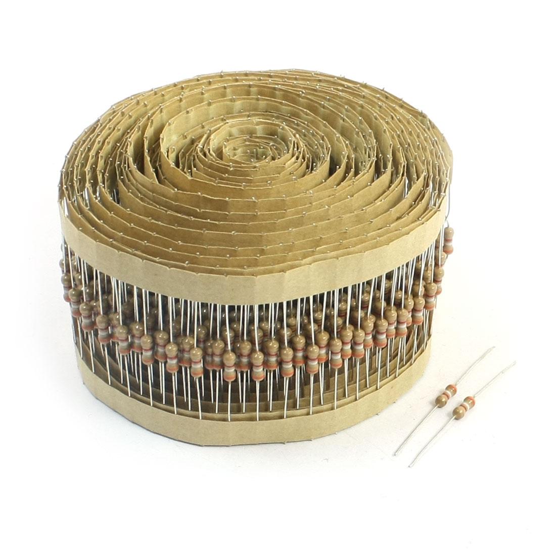 800Pcs Electirc Components 5% Fixed Carbon Film Resistors 3.9K Ohm 1/4W
