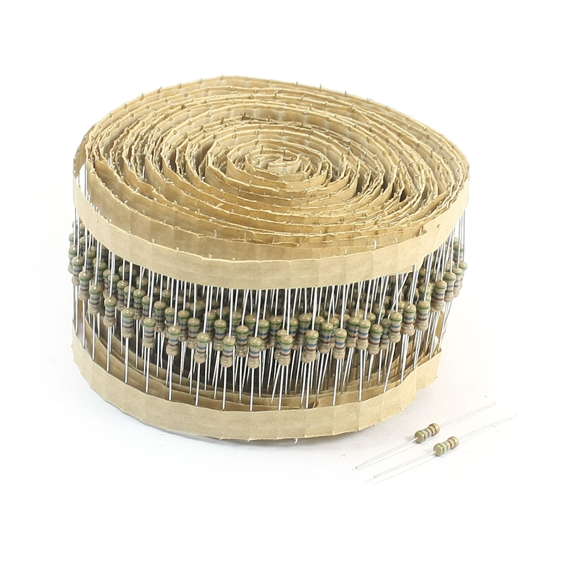 800 Pcs 560 Ohm 0.25W 5% Tolerance 4-Color Ring Axial Lead Type Through Hole Mounting Carbon Film Fixed Resistors for PCB