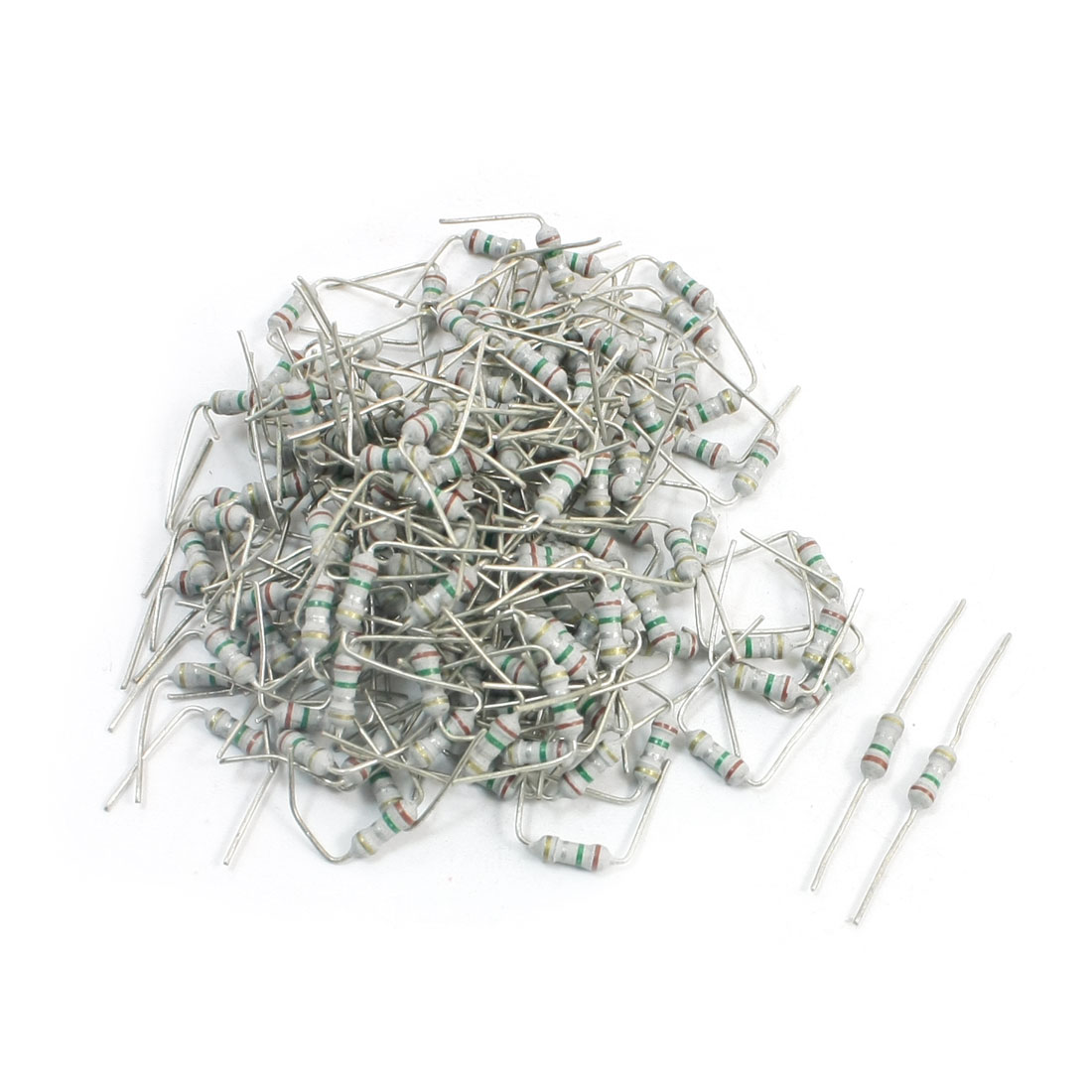 150Pcs 0.15 Ohm 1/4W 5% Tolerance Through Hole Carbon Film Resistors