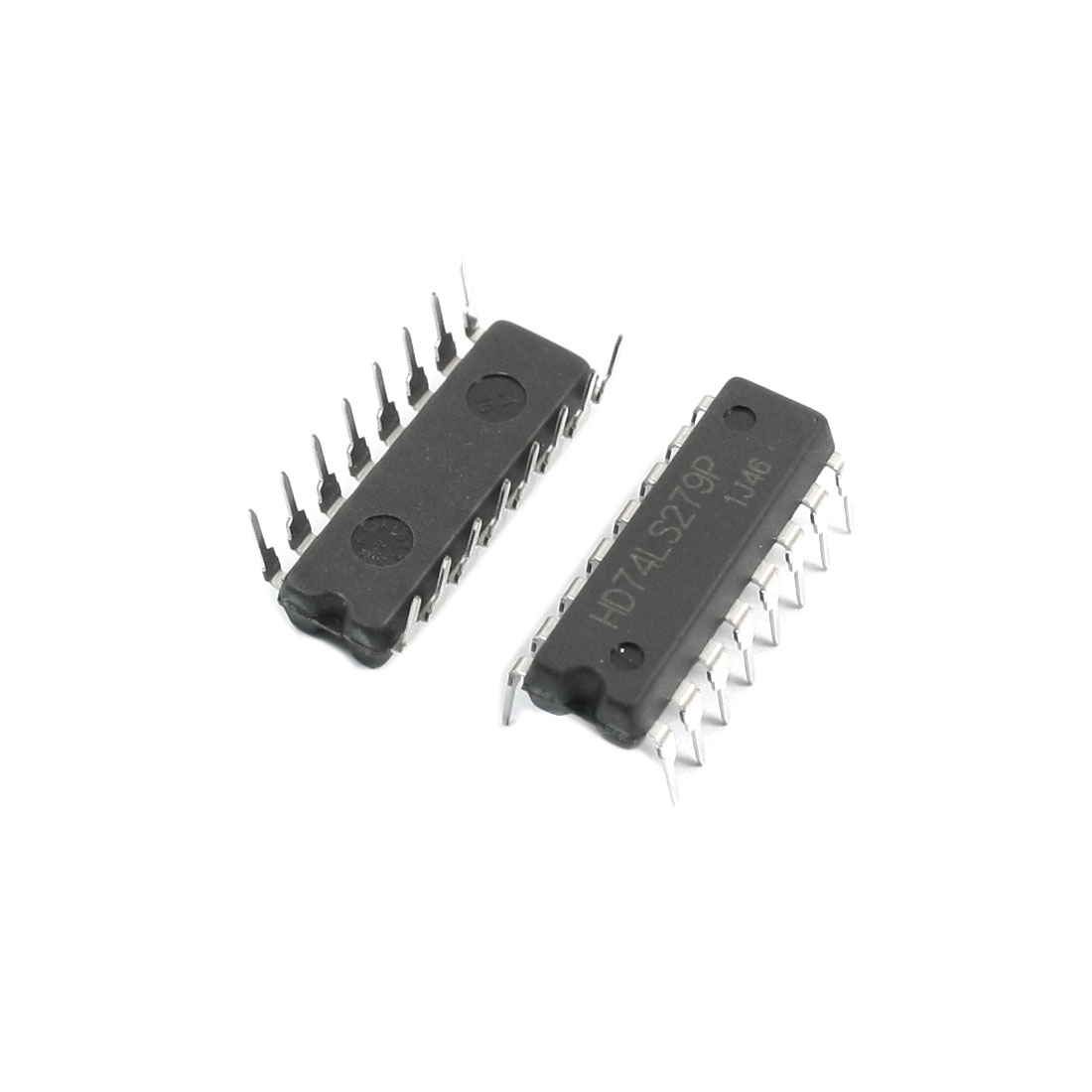 2Pcs 74LS279 2.54mm 16-Pin DIP16 Dual Row DIP Through Hole Quadruple Set-Reset Latch IC Chip