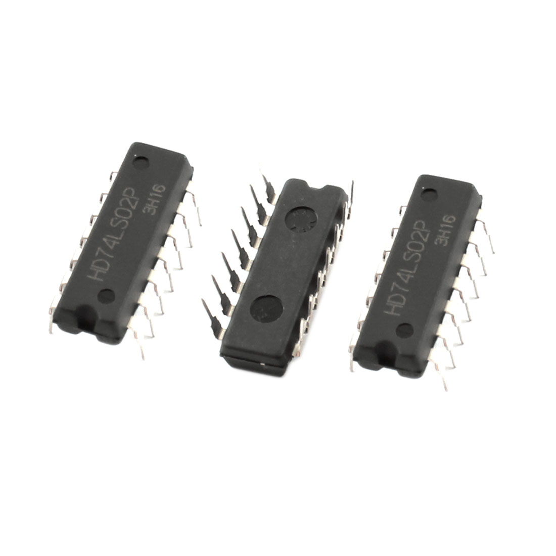 HD74LS02P Quadruple 2 Input DIP-14 Package Positive Nor Gate 3pcs