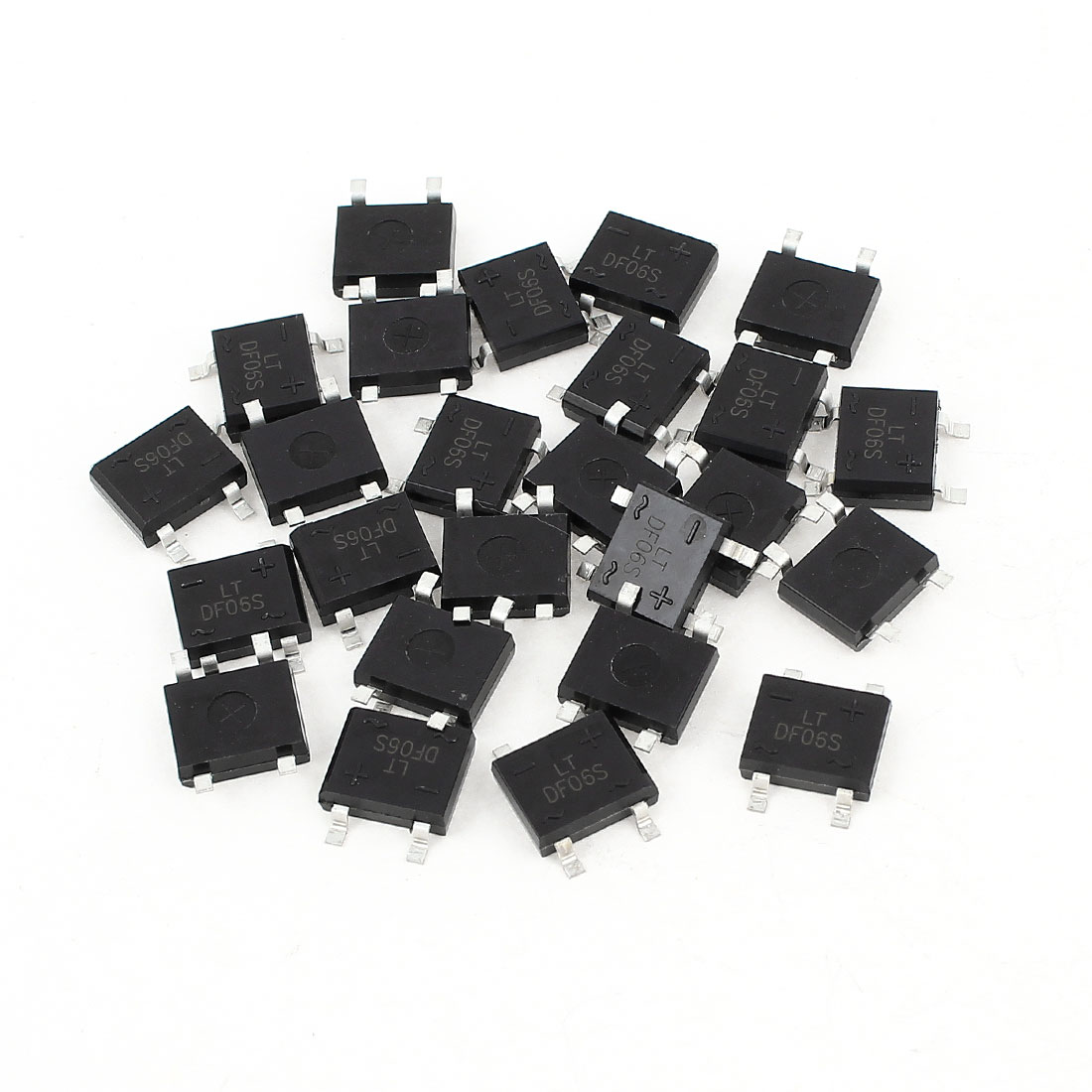 25Pcs DF06S Surface Mounting SMD General Purpose Bridge Power Rectifier IC