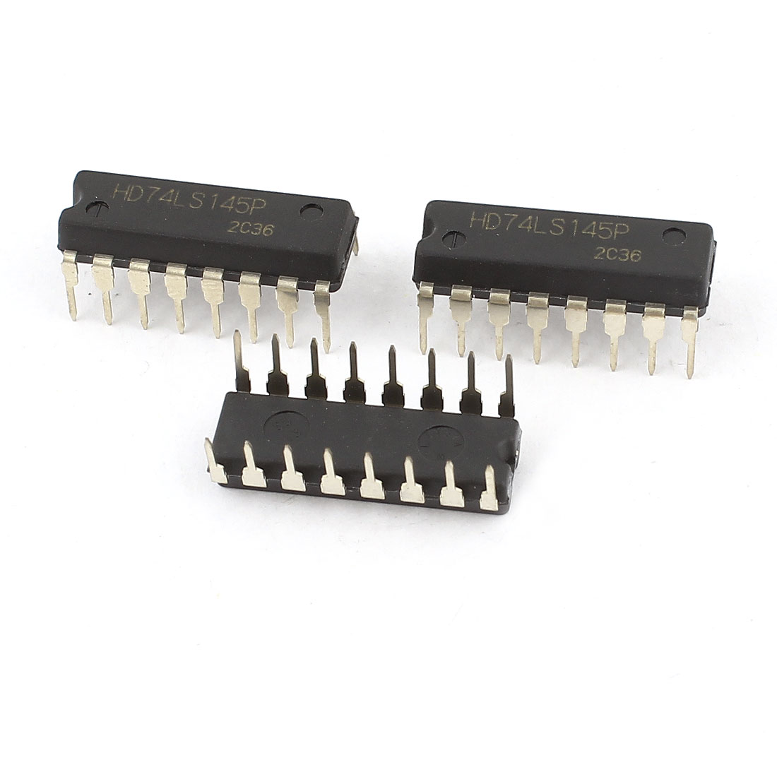3Pcs Black BCD to Decimal Decoders Drivers DIP-16 IC HD74LS145P