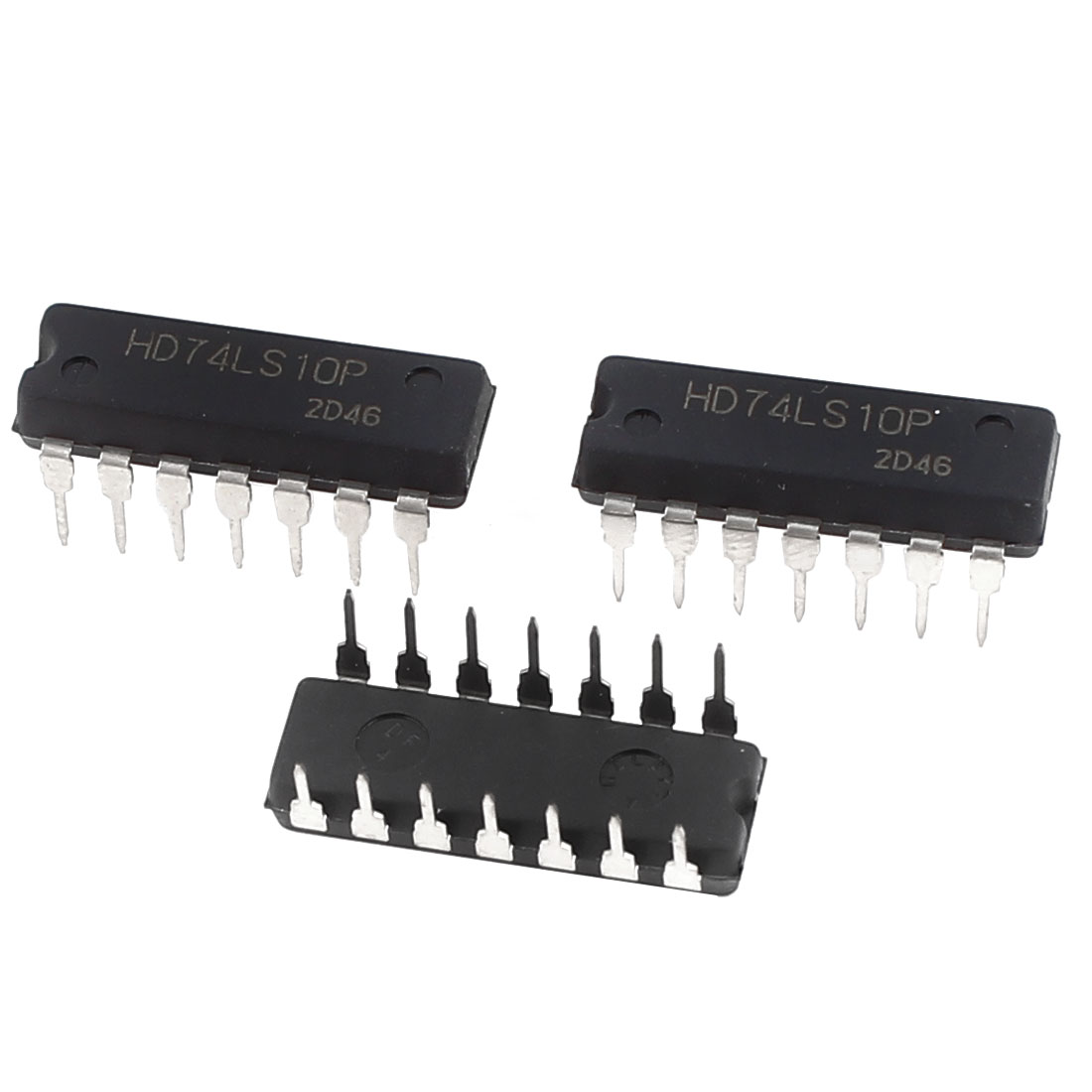 3Pcs HD74LS10P Triple 3-Input Positive NAND Gate DIP-14 IC