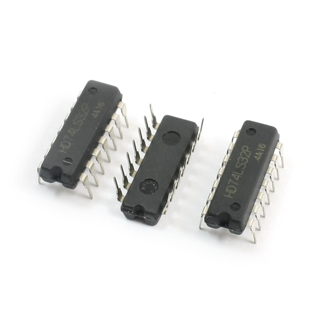 3Pcs 74LS32 DIP 14 Pins Quadruple 2-Input Positive AND Gates Semiconductor