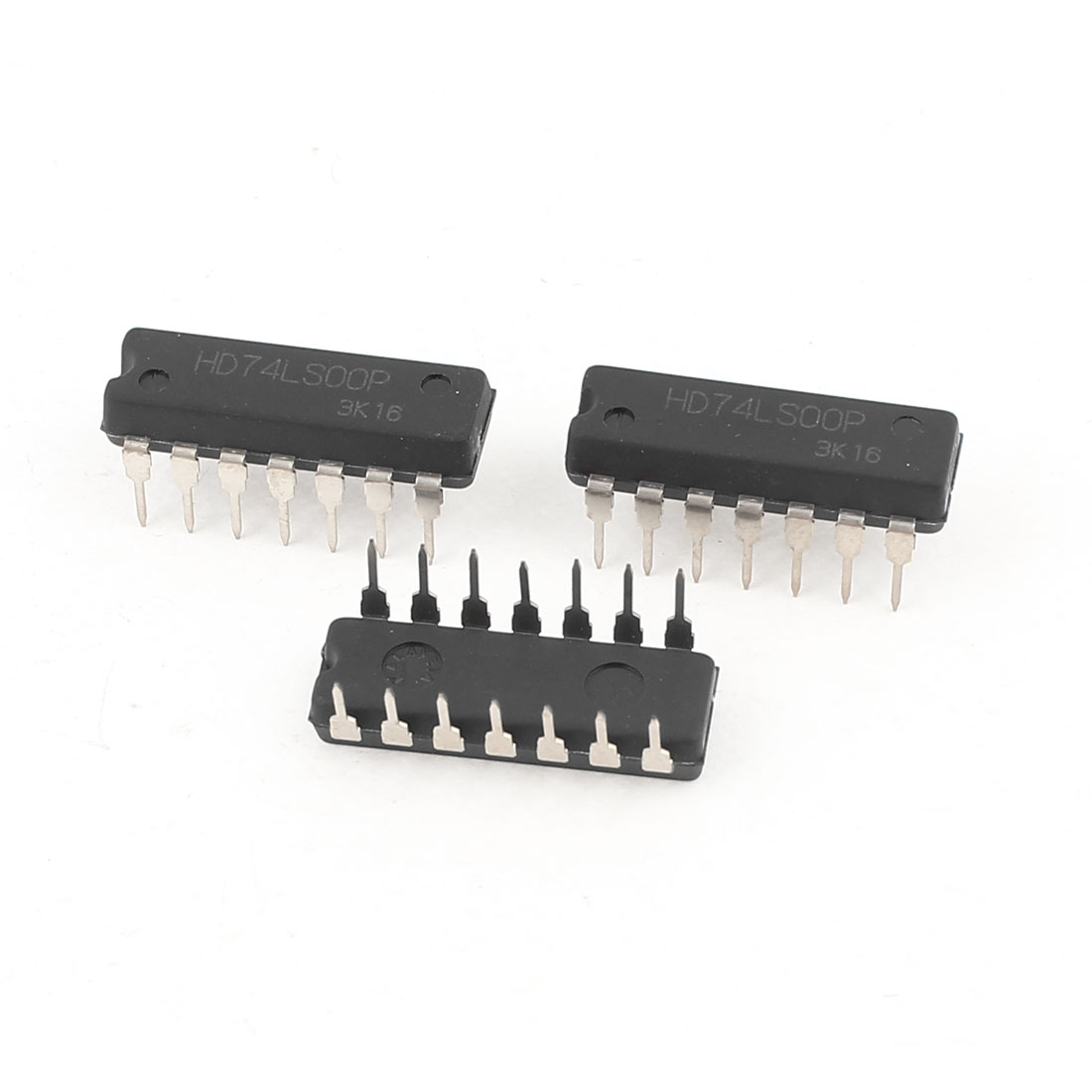 3pcs HD74LS00P DIP Type 14Pins IC Four 3-Input Positive NAND Gates