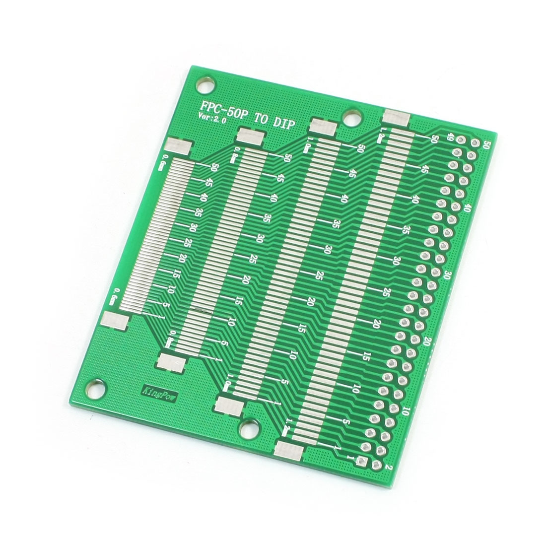SMD SMT 2.54mm Pitch FPC50P DIP Mounting Dual Sides IC PCB Adapter Converter Plate Board