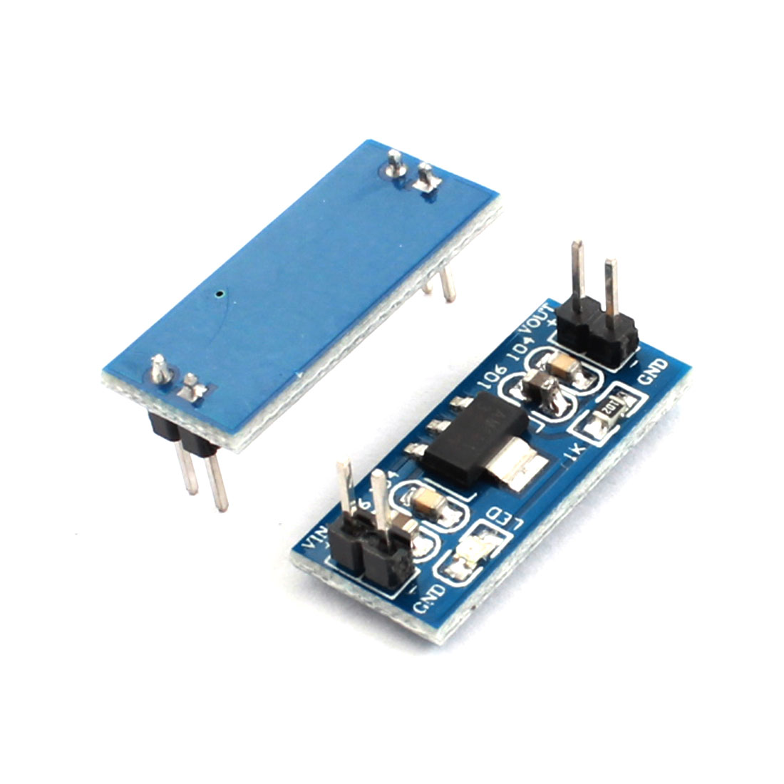 2PCS AMS1117-3.0 DC4.5V-7V to DC3.3V 800mA Step-Down Voltage Regulator Convertor Module