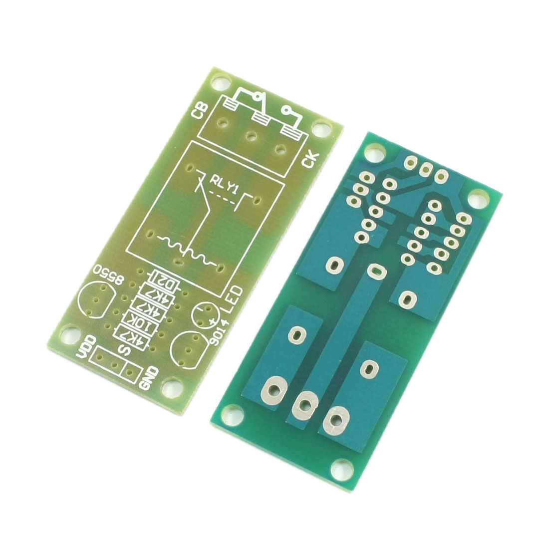 2 Pcs 5V 6V 9V 12V 24V 1-Channel 1CH High Level Trigger Action Relay Extension Module PCB Circuit Board