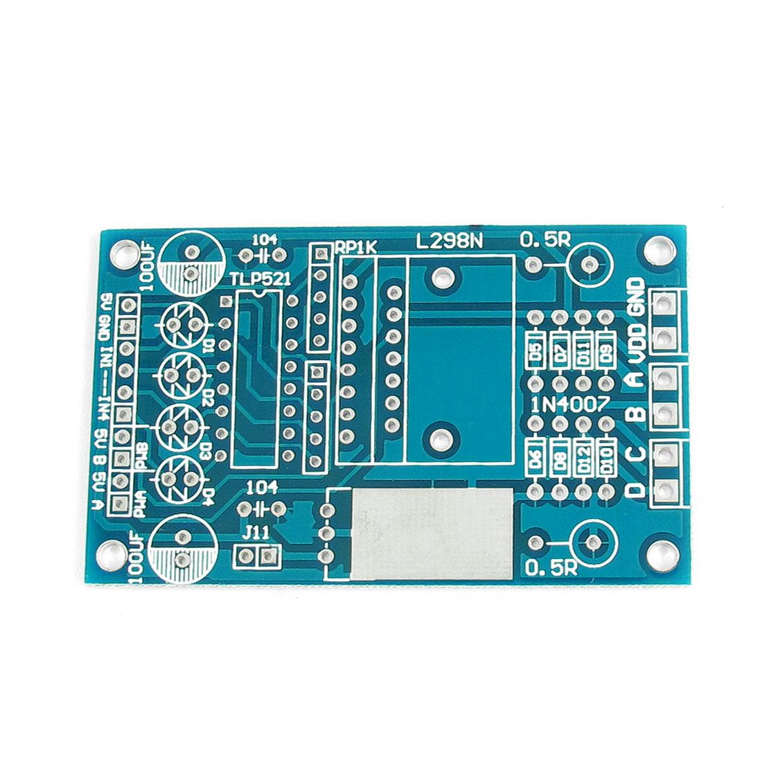 L298N DC Stepper Motor Driver Control Module PCB Blank Board 68mm x 41mm