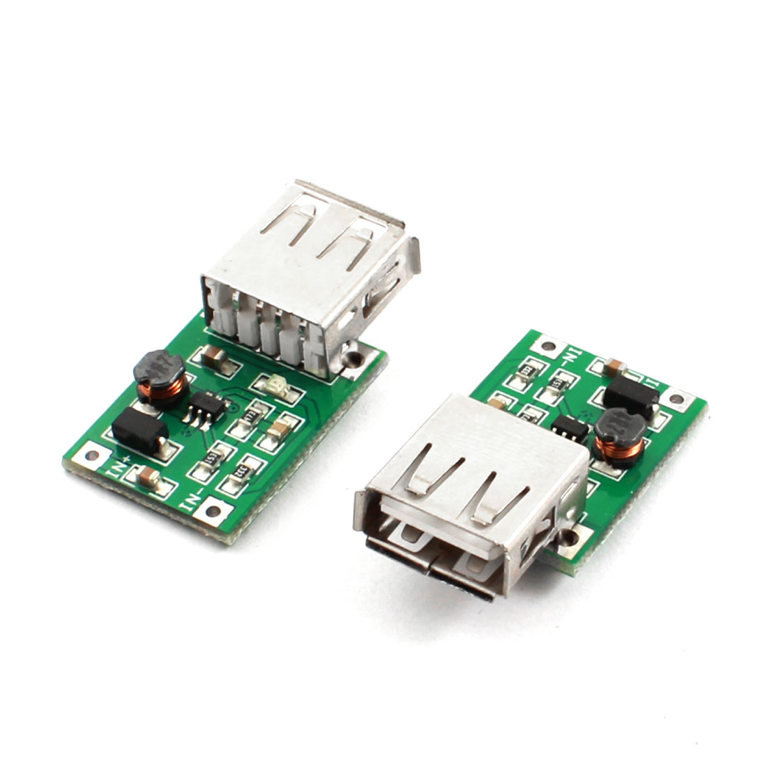 2pcs DC-DC Voltage Step Up Boost Module 0.9V to 5V 600mA USB Connecter Charger for MP3 MP4 Phone