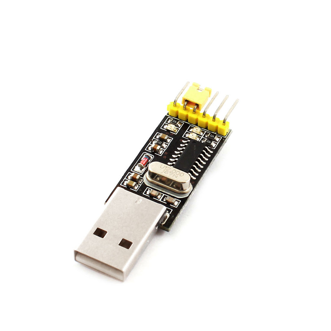 USB 2.0 to TTL UART 6Pin Download Module Serial Adapter Converter CH340 Chip for PCB Board