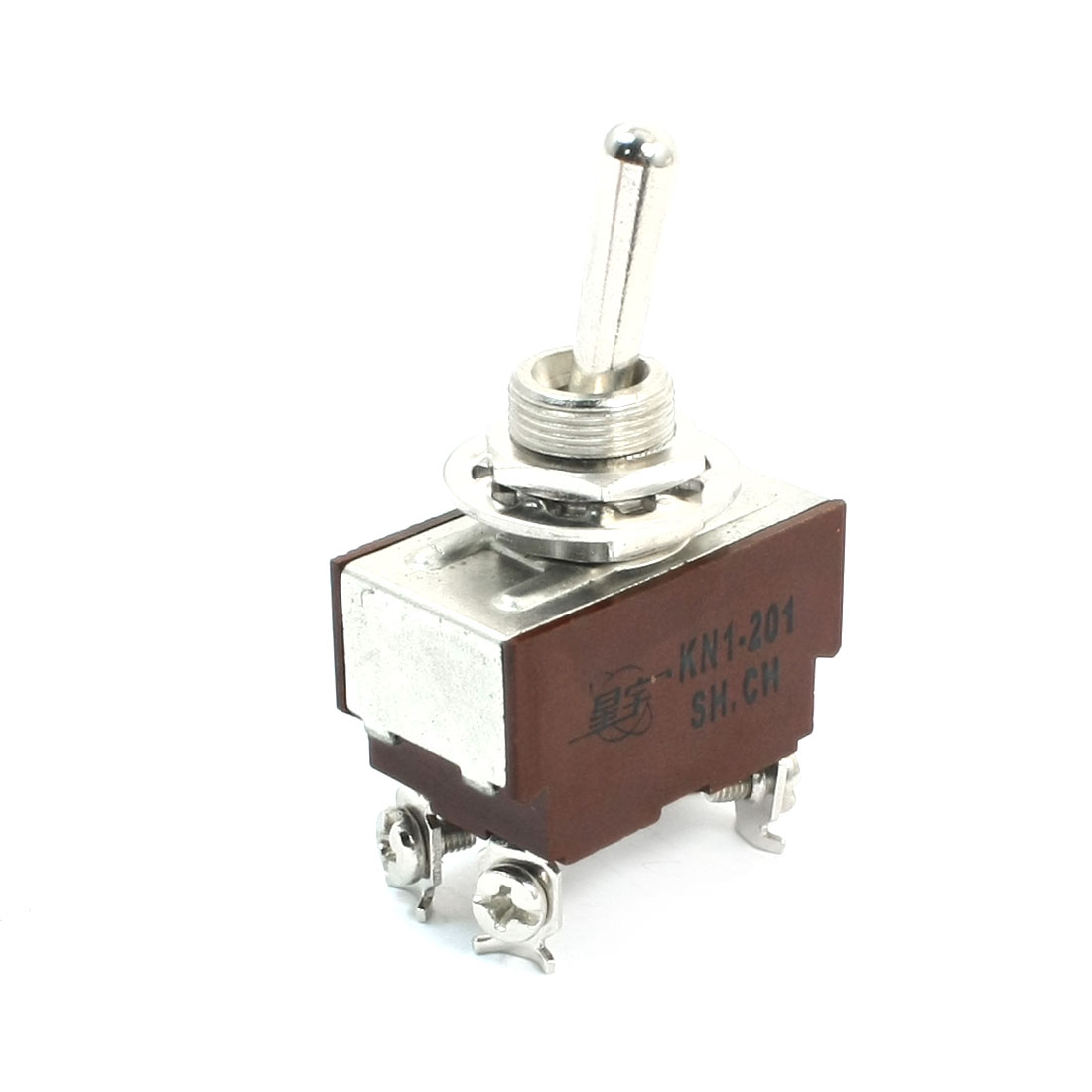 KN1-201 AC 250V 8A DPST 2 Positions Toggle Switch for Switching Light