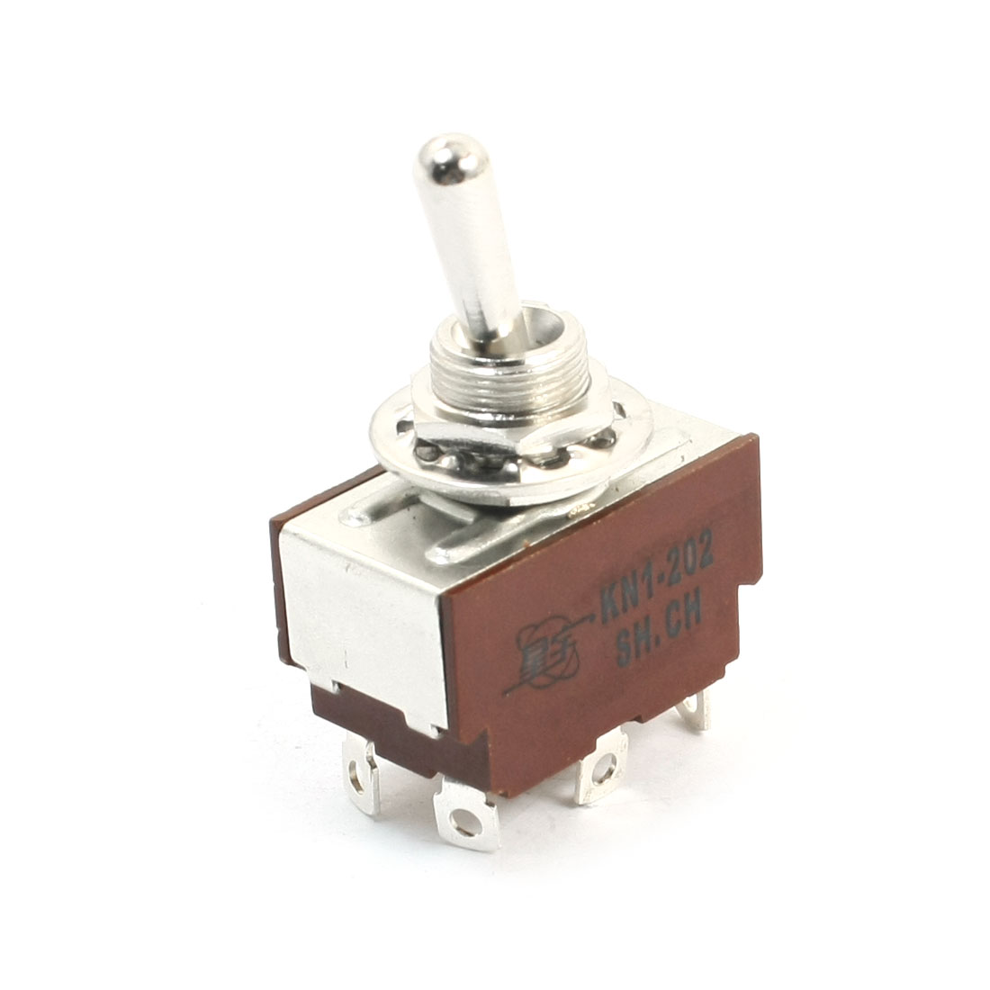 KN1-202 2P2T ON/ON 2 Positions Self-Locking Toggle Switch AC250V 2A