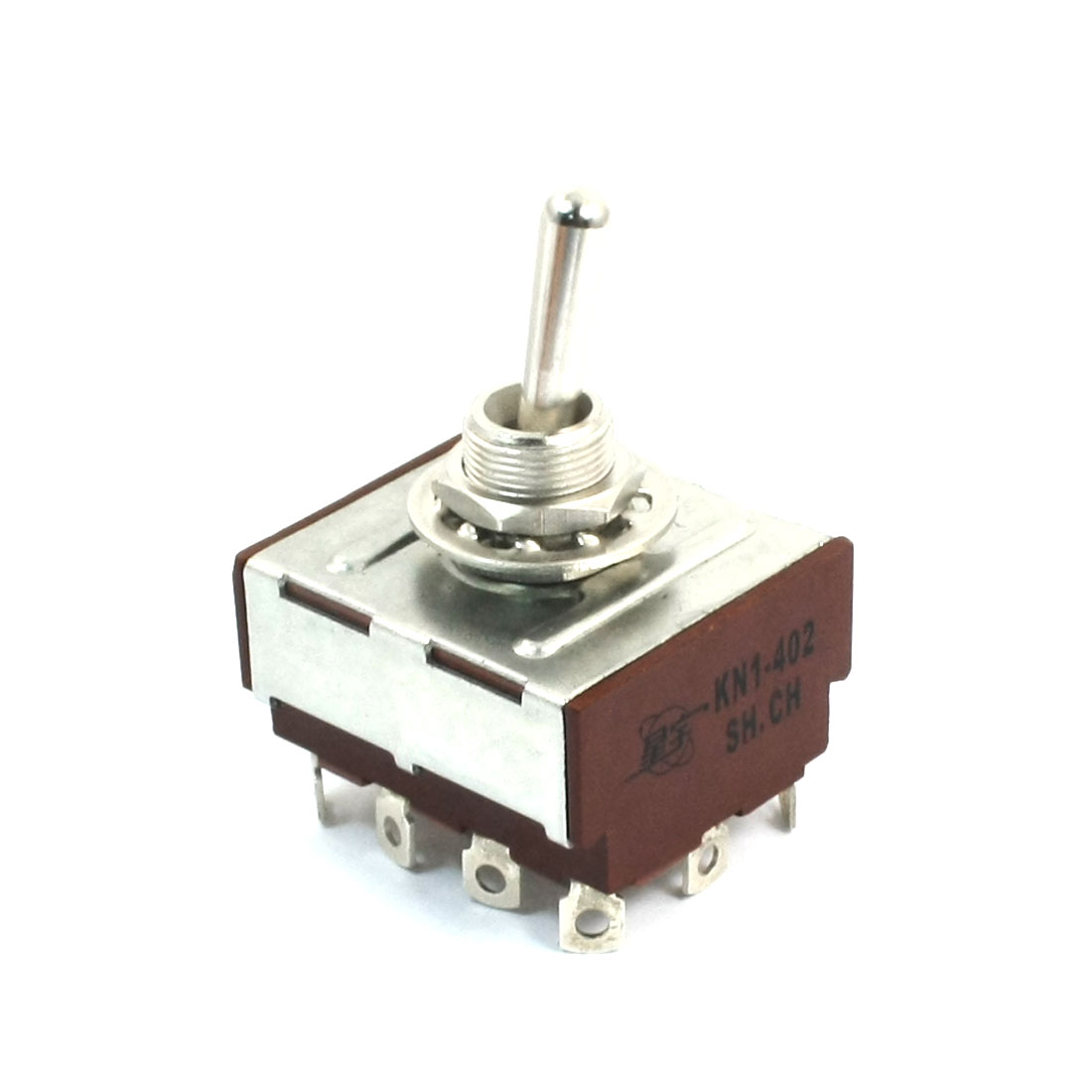 KN1-402 Toggle Switch ON-ON 12 Pole 4PDT AC 250V 2A for Switching Light