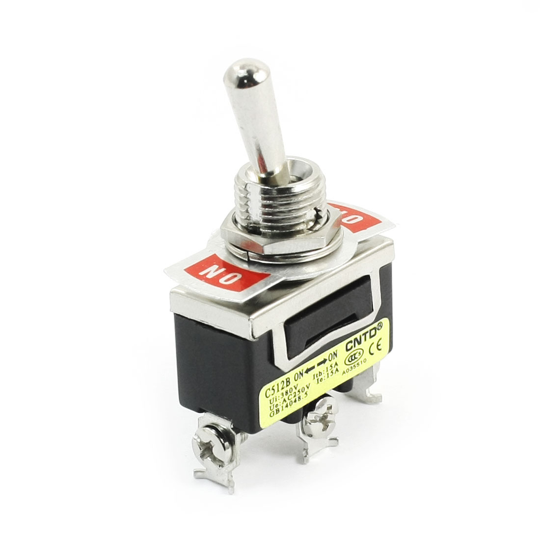 AC250V 15A SPDT 2 Positions 3-Terminals Auto Motor Toggle Switch