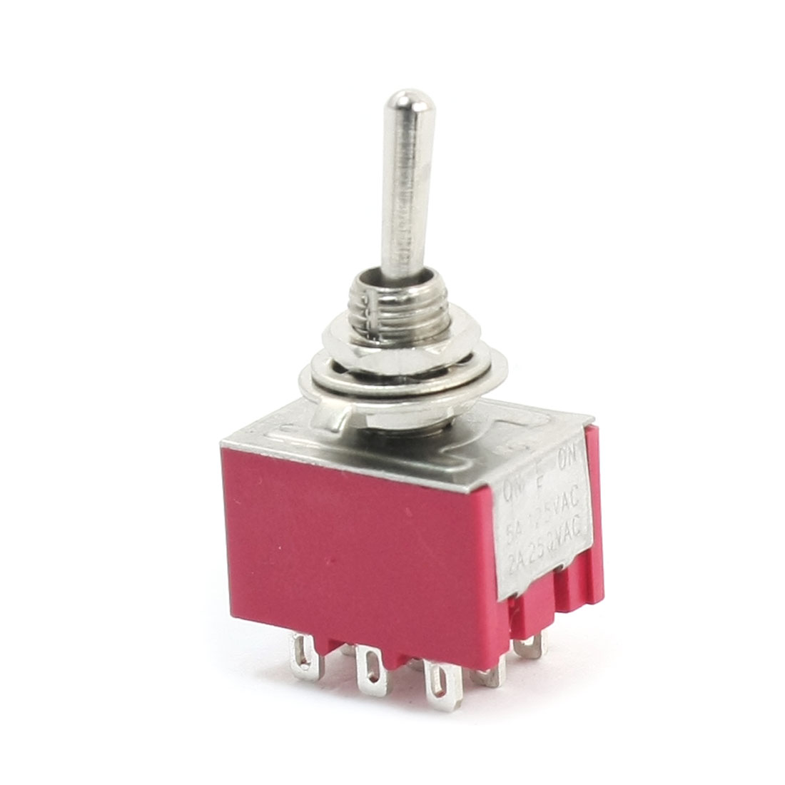 AC125V 5A 250V 2A 3PDT 3 Positions 9Pins Toggle Switch for Auto Motor
