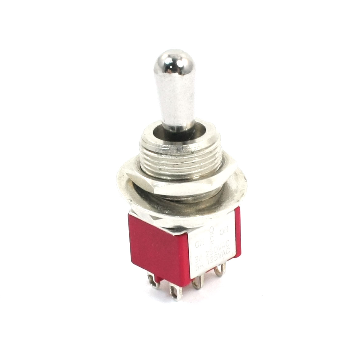 DPDT 3 Positions ON/OFF/ON Auto Motor Rocker Toggle Switch AC250V 3A 125V 5A