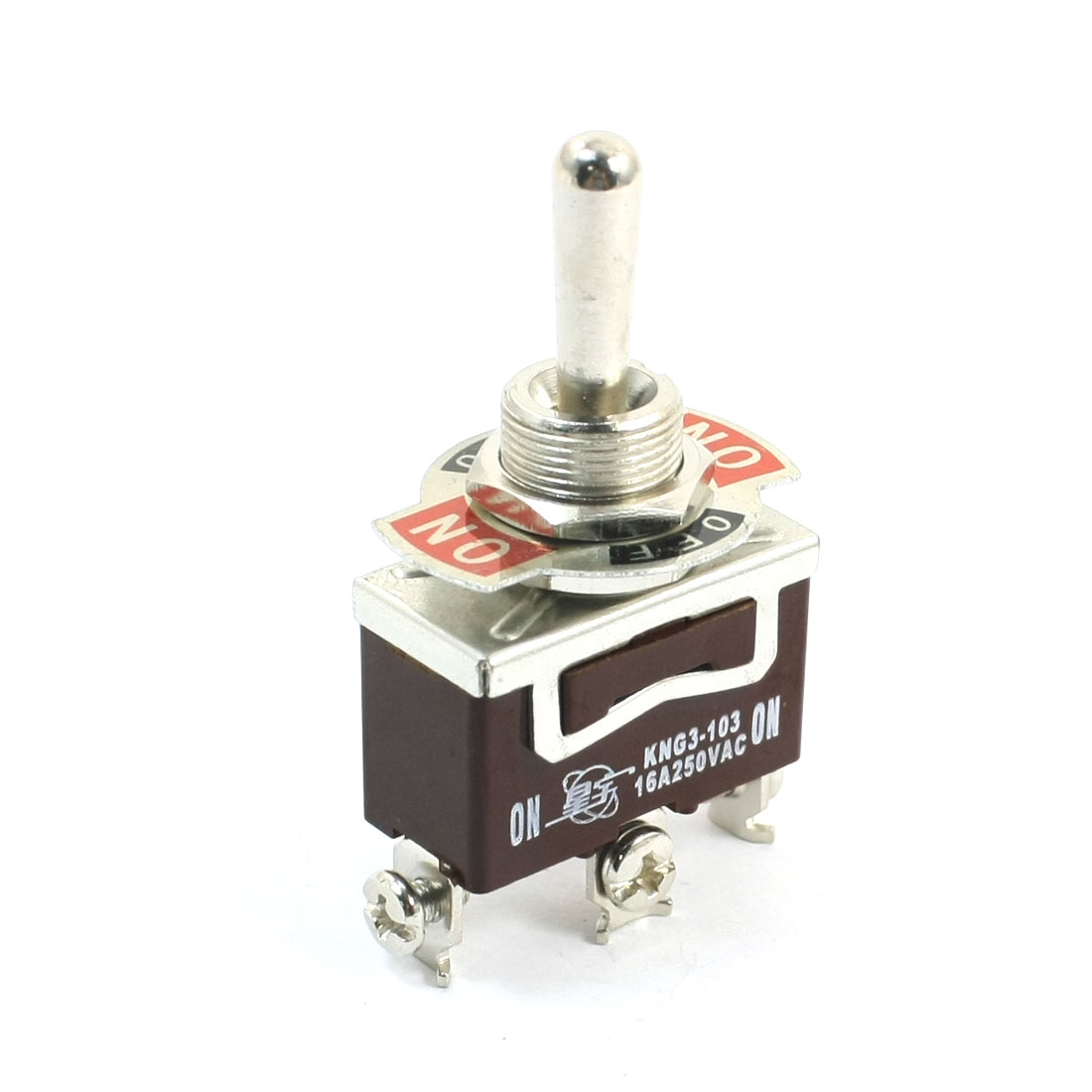 KNG3-103 SPDT 3 Positions 3-Terminals Toggle Switch AC250V 16A