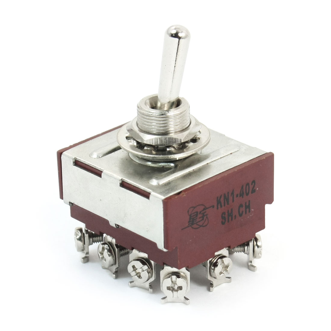 4PDT 2 Positions ON/ON Auto Motor Rocker Toggle Switch AC 250V 8A
