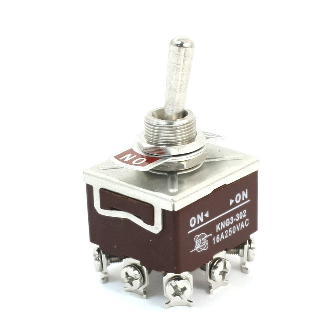 AC250V 16A 3P2T 3PDT 2 Position Toggle Switch KNG3-302