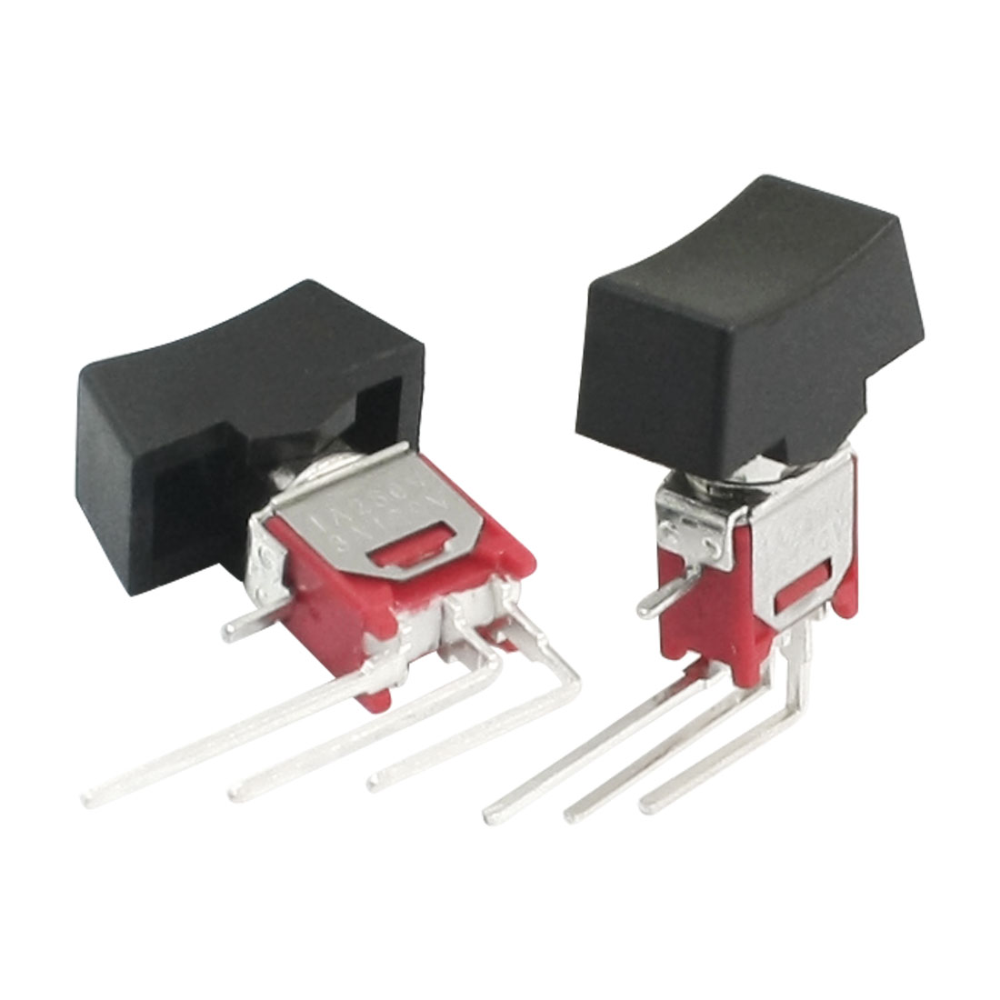 2pcs 250V 1A 120V 3A SPDT 3 Position ON/OFF/ON Toggle Switch w Cover