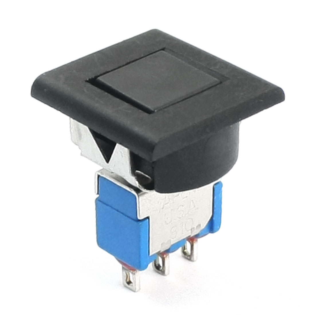 SPDT Momentary Black Button Toggle Switch AC250V 3A AC125V 6A