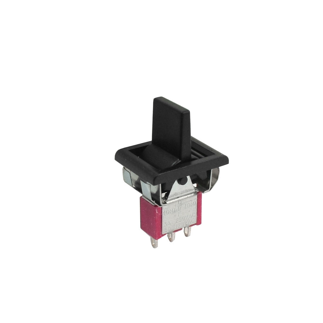 AC 250V/3A 125V/5A Momentary SPDT 3 Positions Toggle Switch T80-R