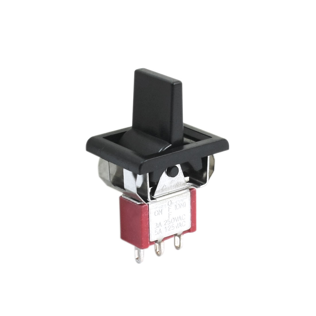 AC 250V/3A 125V/5A Latching Momentary SPDT 3 Positions Toggle Switch