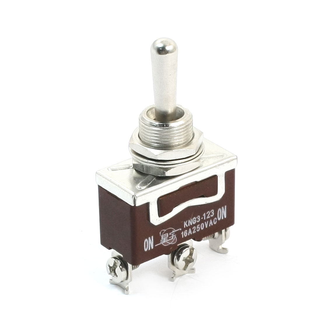 AC 250V 16A SPDT 3-Way ON-OFF-ON Power Control Toggle Switch