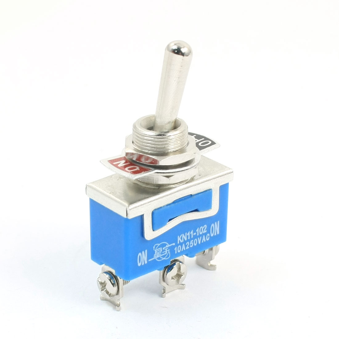SPDT 2 Position AC250V 10A 3 Screws Terminals Toggle Switch
