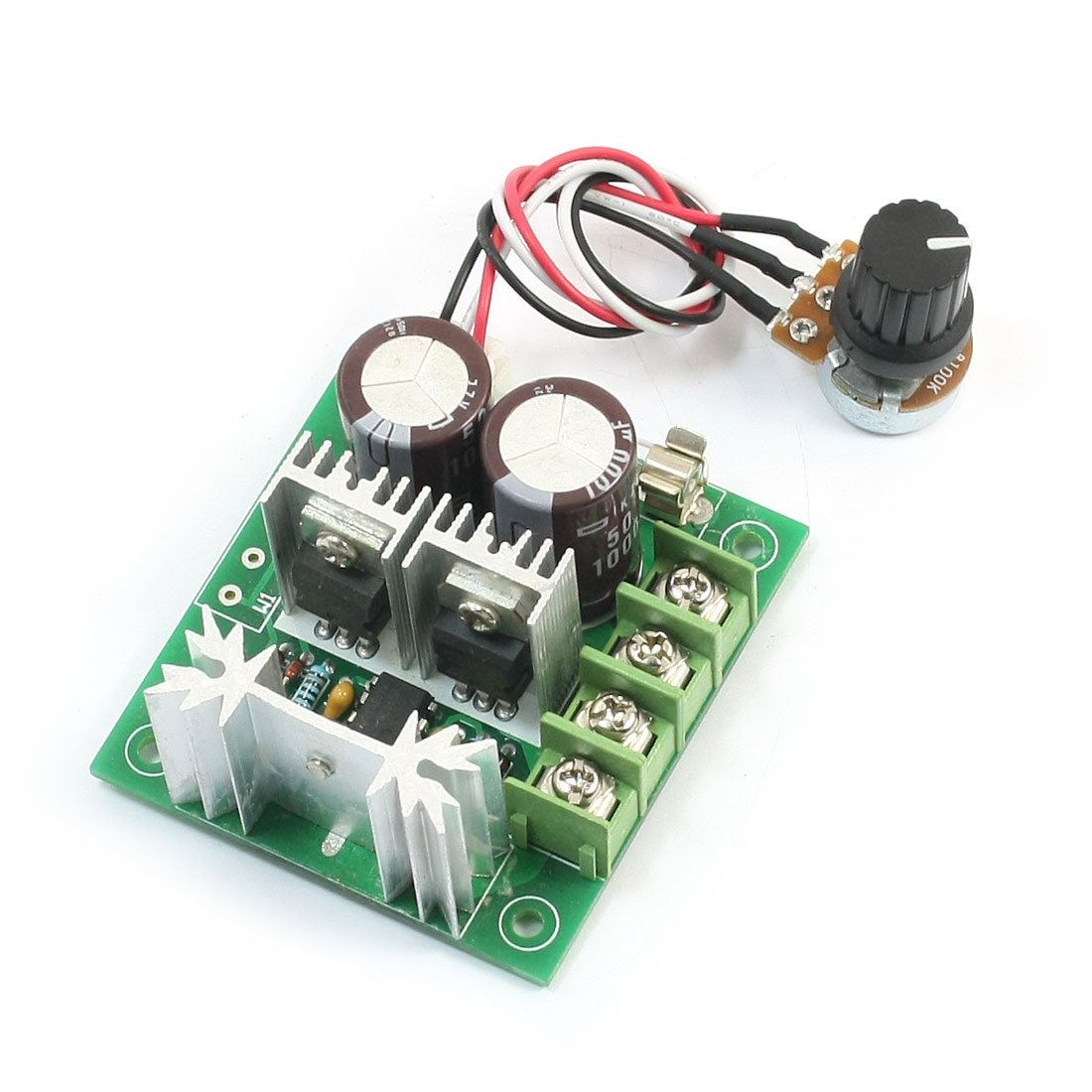 CCMHCW DC12-40V 400W 10A Adjustable PWM DC Motor Speed Controller