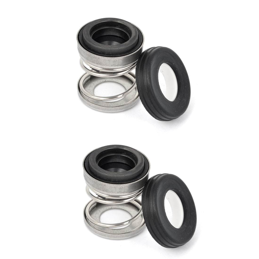 2 Pcs 11mm Internal Diameter Industrial Mechanical Seal for Water Pump