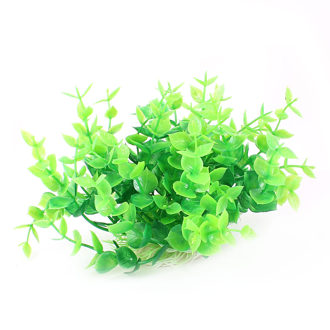 "Aquarium Fish Tank Ornament Landscaping Artificial Emulational Underwater Water Plant Grass Decor Green 4.3"" Height"