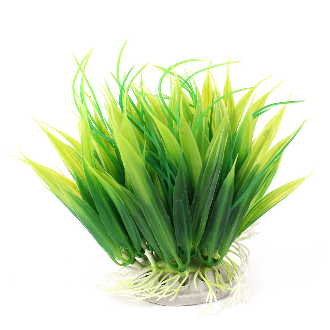 "Aquarium Fish Tank Ornament Landscaping Artificial Emulational Underwater Water Plant Grass Decor Green 5.5"" Height"