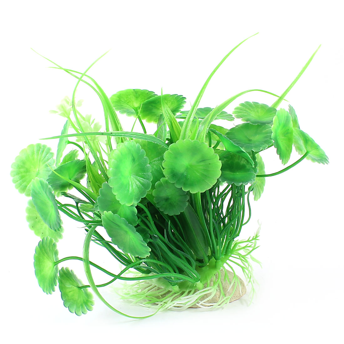 "Aquarium Fish Tank Ornament Landscaping Artificial Emulational Underwater Water Plant Grass Decor Green 4.7"" Height"