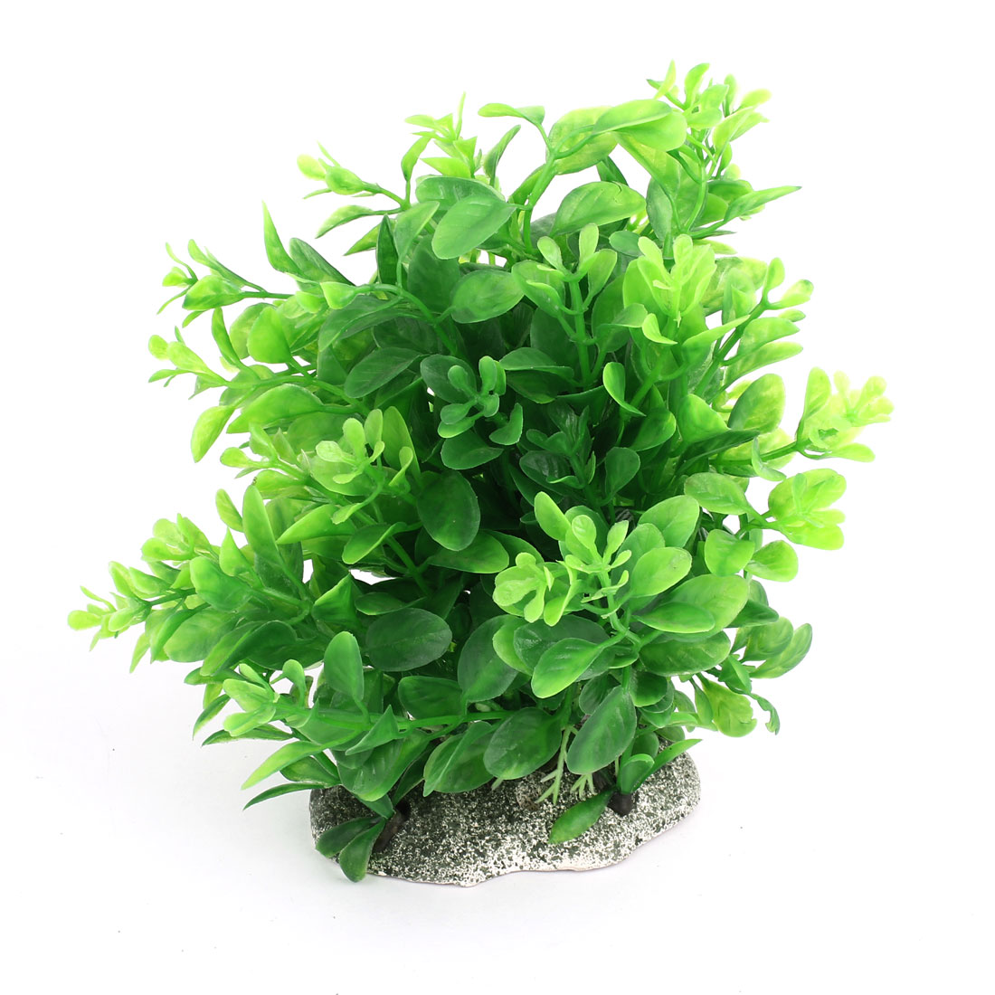 "Aquarium Tank Ornament Plastic Grass Plant Green 7.1"" Height"