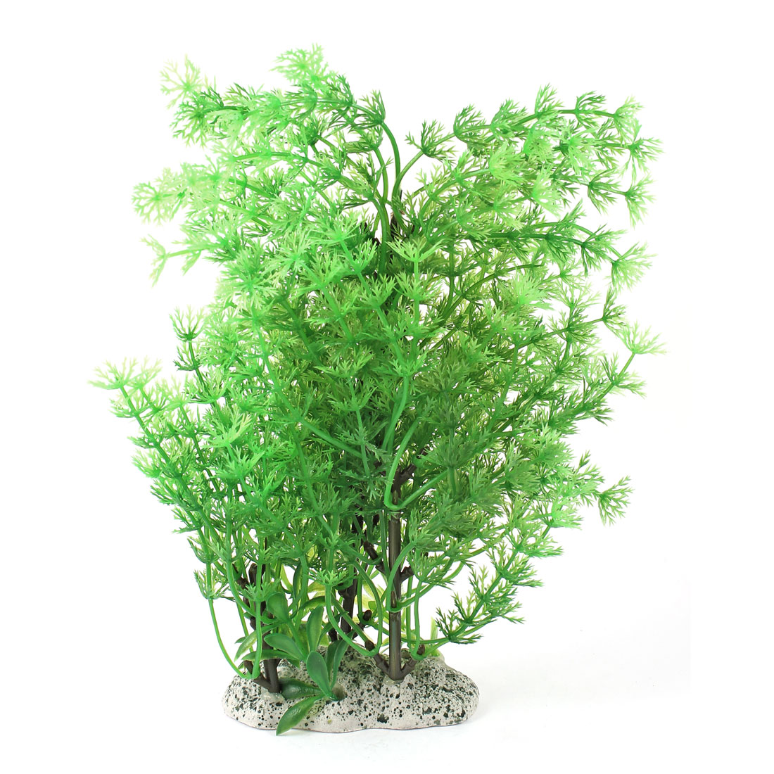 "Aquarium Fish Tank Ornament Landscaping Artificial Emulational Underwater Water Plant Grass Decor Green 8"" Height"