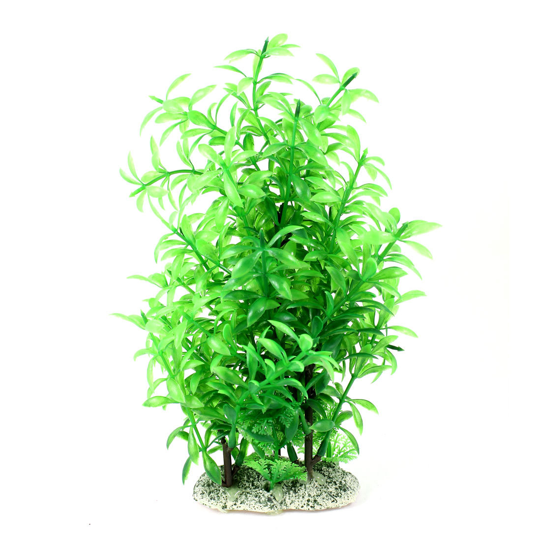 "Aquarium Fish Tank Ornament Landscaping Artificial Emulational Underwater Water Plant Grass Decor Green 9"" Height"