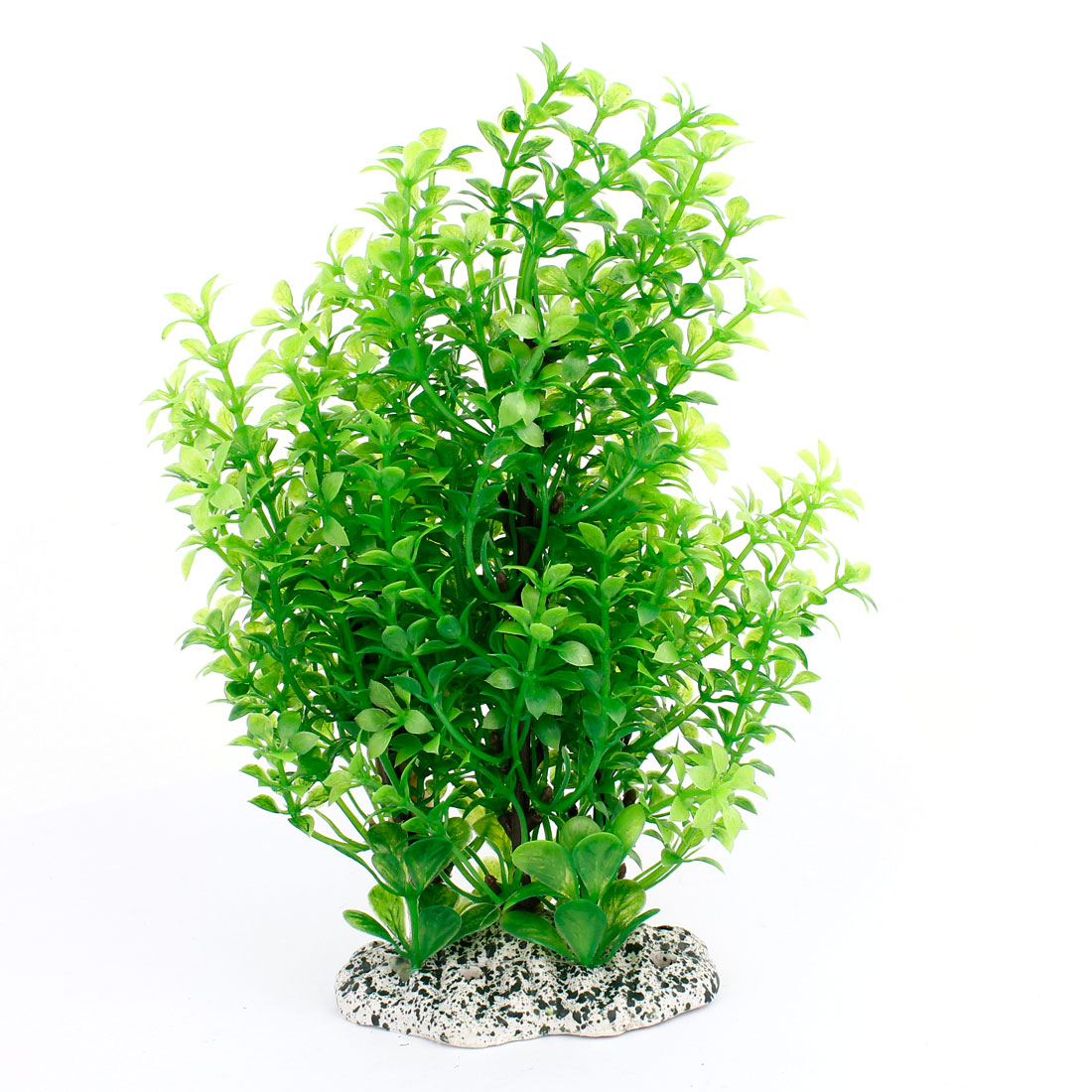 """Aquarium Decor Green Plastic Simulation Water Plant 8.3"""" Height"""