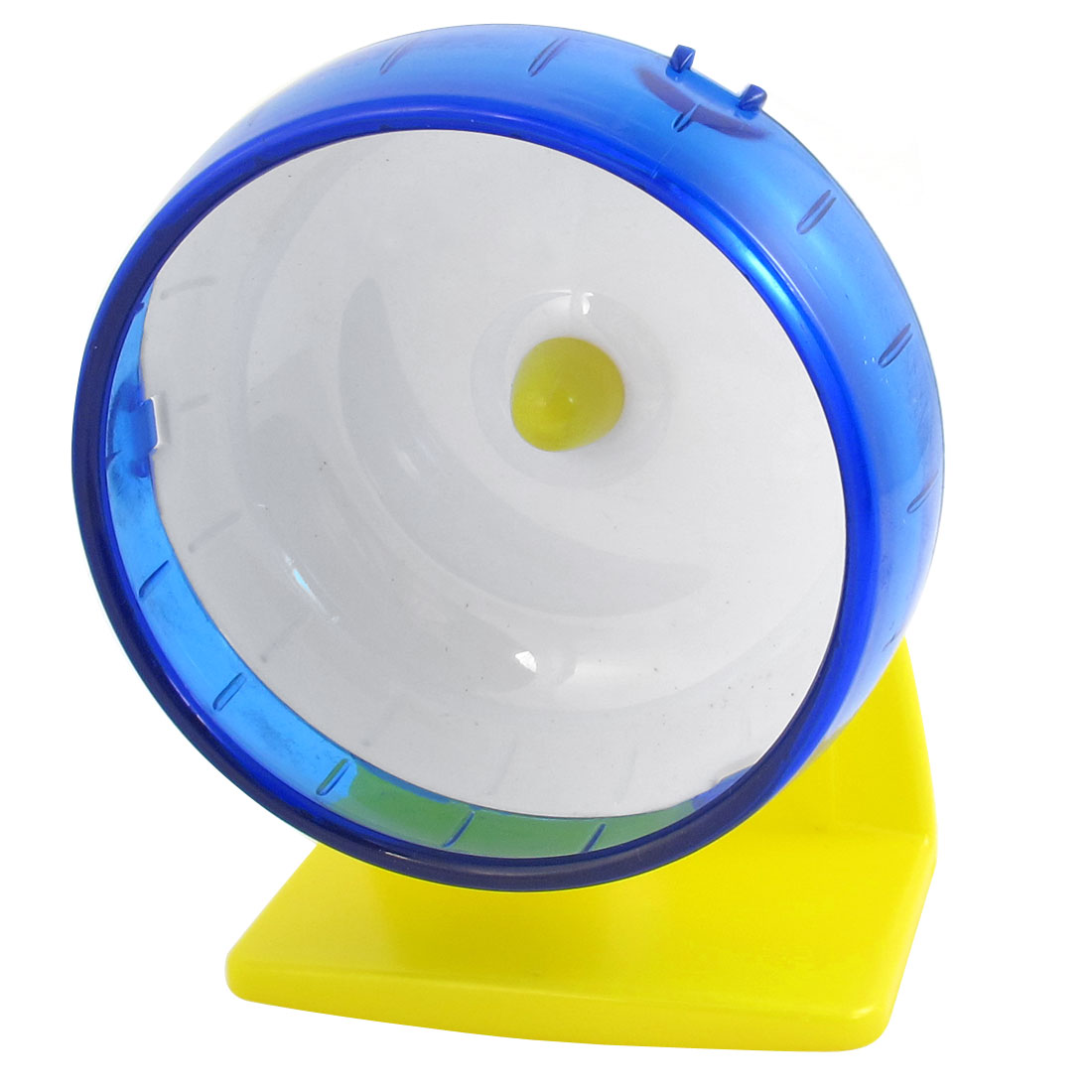 Mini Hamster Gerbil Mice Mouse Fitness Exercise Blue White Fun Toy Ball Wheel Cage